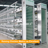Pondeuse de cages de poulet de batterie/poulet galvanisés automatiques de couche utilisés par poulet/oeuf
