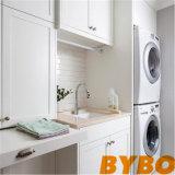 Kabinetten en Drogend Rek over Wasmachine en Droger (door-l-11)