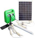 휴대용 10W/7ah/12V DC 태양 전지판 홈 점화 힘 또는 에너지 시스템