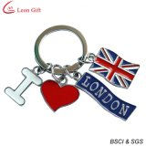 Paese all'ingrosso Inghilterra Keychain per Souvenir Gift (LM1062)