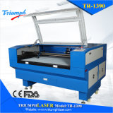 fabricante de couro de madeira acrílico da máquina de estaca do laser do CO2 do gravador do cortador da grande escala de 80W 100W 150W 130W