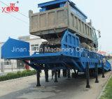 Rampa hidráulica móvil de la carga del envase de la rampa de cargamento