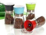 Cozinha de garrafa de vidro Cor Grinder de utensílios de cozinha