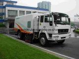 Caminhão arrebatador da lavagem profissional da rua da fonte com o chassi de Isuzu HOWO DFAC Jmc