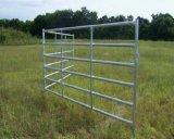 6 штанг гальванизировали панель загородки скотин/стальную панель поголовья