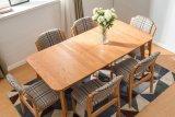 Mesa de centro de jantar de madeira contínua da mesa (M-X2152)