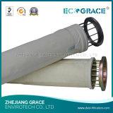 Sacchetto filtro del poliestere del feltro dell'ago di filtrazione della macchina di falegnameria
