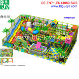 Dschungel-Innenspielplatz für Verkauf, Gymnastik-Kind-Innenspielplatz