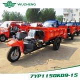 Triciclo 3-Wheel aberto do diesel chinês da carga de Waw