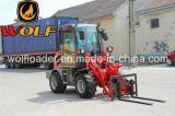 caricatore cinese della rotella della parte frontale 800kg con i collegamenti anteriori