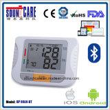 Moniteur de la pression sanguine Bt4.0 avec l'homologation de FDA de la CE (BP80LH-BT)
