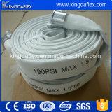 Mangueira de incêndio dobro do PVC dos revestimentos para o equipamento da luta contra o incêndio