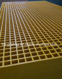 Reja moldeada fibra de vidrio con resistencia a la corrosión