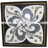 自然な大理石のモザイク・タイルおよびPartterns