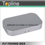 Preiswerter Aluminiumschaumgummi-Einlage-Fliegen-Fischerei-Kasten hergestellt in China