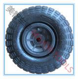4.10/3.50-4 Aufblasbarer Hilfsmittel-Karren-Rad Rubbe Reifen