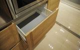 La melamina polo simple del gabinete de cocina (ZG-004)