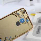 Dekking van de Telefoon van de Diamant van de Tuin TPU van de luxe de Geheime voor iPhone 6/6s