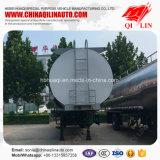 De zure Vloeibare Semi Aanhangwagen van de Tanker met 12 Wielen