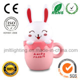 Nachfüllbare LED Cute Night Light mit CE&RoHS Certification