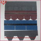 보통 기와 유형 및 섬유유리와 아스팔트 물자 빨간 아스팔트 지붕널