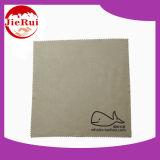 Tissu de nettoyage estampé par logo de lentille de Microfiber de qualité