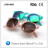 Óculos de sol redondos polarizados novos da forma unisex do espelho