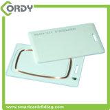 Cartão grosso Rewritable do cartão 125kHz da parte superior da microplaqueta T5577 para o cartão do sistema do controle de acesso