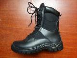 高品質の軍隊および軍隊の完全な穀物の戦闘用ブーツ