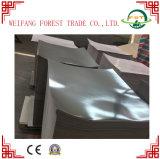 Papel de aluminio del papel de la cartulina