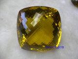 レモン水晶大きいサイズは宝石用原石を緩める