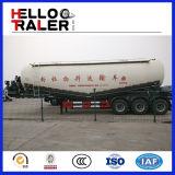 Del polvo del tanque acoplado vertical semi/acoplado a granel del tanque del cemento