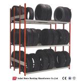 Racking ajustável do armazenamento de pneu