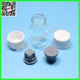 Kleine Glasphiolen mit Überwurfmuttern