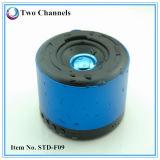 El altavoz impermeable de Bluetooth con las manos libera el soporte SD micro de la función para el teléfono elegante (STD-F09)