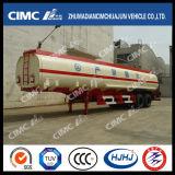 Cimc carburant /huile de l'acier du carbone de Huajun 40cbm 2axle/essence/camion-citerne de Disel