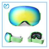 La lentille interchangeable d'anti brouillon folâtre des lunettes de surf sur neige en verre