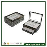 Contenitore di vigilanza di legno di memoria dello scompartimento multi