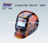 Saldatura Helmet (XDH6- 616GFlame Skull)