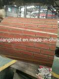 コイルのプリント煉瓦パターンPrepainted鋼鉄PPGIシート