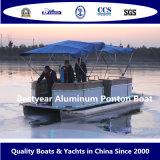 Barco de aluminio el pontón de Bestyear