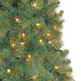 12 FT. Wesley misturou a árvore de Natal artificial Spruce com as 1800 luzes desobstruídas (MY100.075)
