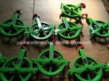 Poulie coupée de roue de genièvre de poulie de câble aux Etats-Unis pour la construction