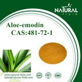 Emodina 95% 98% dell'aloe con il forte Stimolante-Lassativo; Azione
