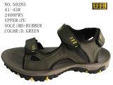 Numéro 50284 deux chaussures d'action de santal d'hommes de types