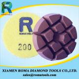 Almofadas de polonês do assoalho do diamante de Romatools