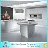 アクリルのキャビネット光沢度の高い既製MDFモジュラー安い中国のシンプルな設計の現代食器棚