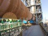 Linea di produzione del forno rotante della spugna di ferro