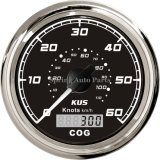 Alta qualità 85mm GPS Speedometer 0-60 Knots con Backlight