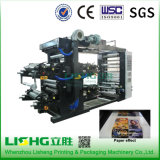 Ytb-4800 High Performance HDPE Film Bag Flexo Printing Machinery